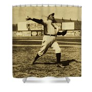 Cy Young With The Boston Americans 1908 Shower Curtain