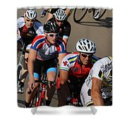 Cycle Racing Shower Curtain