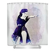 Cyd Charisse, Actress And Dancer Shower Curtain