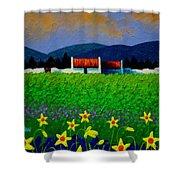 Daffodil Meadow Shower Curtain