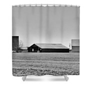Dairy Farm In Dixon Shower Curtain