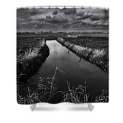 Damme, Belgium Shower Curtain
