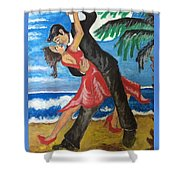 Dance With Me Make Me Sway Shower Curtain