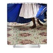 Dancer Cuba Shower Curtain