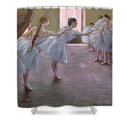 Dancers At Rehearsal Shower Curtain