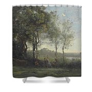 Dancers Of Castel Gandolfo Shower Curtain