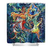 Dancing Butterflies Shower Curtain