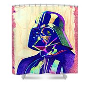 Darth Vader Shower Curtain by Kyle Willis