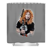 Dave Mustaine Shower Curtain