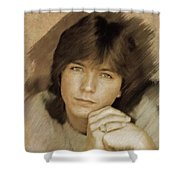 David Cassidy, Actor Shower Curtain