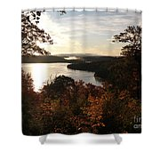 Dawn At Algonquin Park Canada Shower Curtain