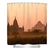Dawn In Burma Shower Curtain