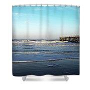 Daytona Dawn II Gp Shower Curtain
