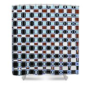 Dead Pine Tree Abstract Shower Curtain