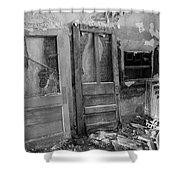 Debris Shower Curtain