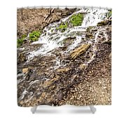 Decorah Iowa Waterfall Shower Curtain