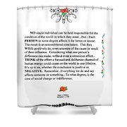 Decree Shower Curtain