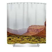 Deep Valley Shower Curtain