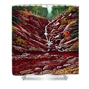 Deepwoods Cascade Shower Curtain
