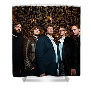 Deer Tick Portrait By Anna Webber Shower Curtain