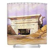 Dendera Temple Complex, 1938 Shower Curtain