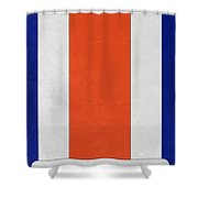 Denver Broncos Helmet Art Shower Curtain