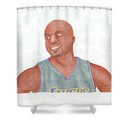 Derek Fisher Shower Curtain