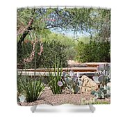 Desert Garden Shower Curtain