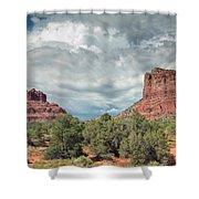Desert View, Sedona, Arizona Shower Curtain