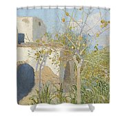 Designs By Capri Shower Curtain