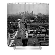 Detroit 1942 Shower Curtain
