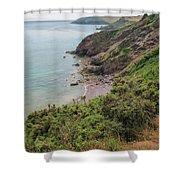 Devon Coastal View Shower Curtain