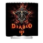 Diablo IIi Shower Curtain