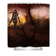 Diablo IIi Shower Curtain