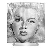 Diana Dors Shower Curtain