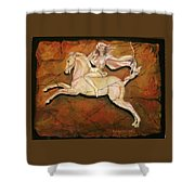 Diana The Huntress Shower Curtain