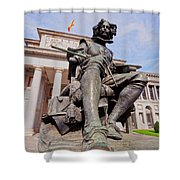 Diego Velazquez Shower Curtain