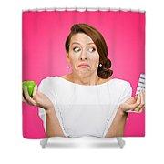 Diet Pills For Women Shower Curtain