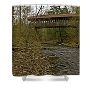 Dingleton Hill Bridge Shower Curtain