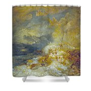 Disaster At Sea Shower Curtain