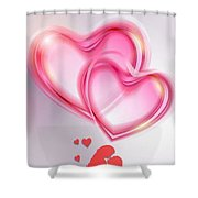 Does She Love Me Or Not? Shower Curtain