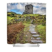 Dolbadarn Castle Snowdonia Shower Curtain