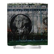 Dollar Bill Shower Curtain