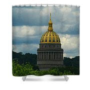 Dome Of Gold Shower Curtain
