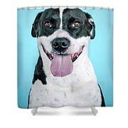 Domino 2 Shower Curtain