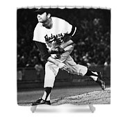 Don Drysdale (1936-1993) Shower Curtain
