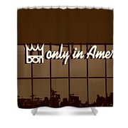 Don King Only In America Shower Curtain