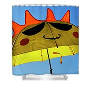 Don't Worry Be Happy Shower Curtain