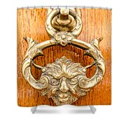 Door Knobs Of The World 54 Shower Curtain