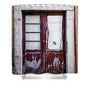 Door No 7 Shower Curtain